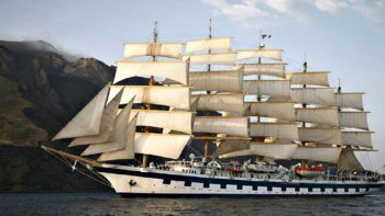 take a sailing cruise on the Star Clippers Royal Clipper