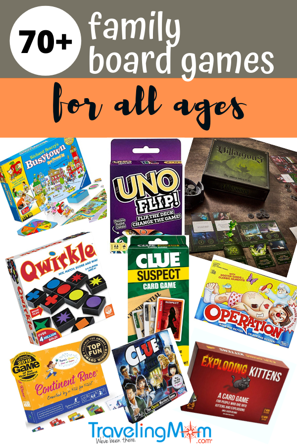 family board game ideas for all ages