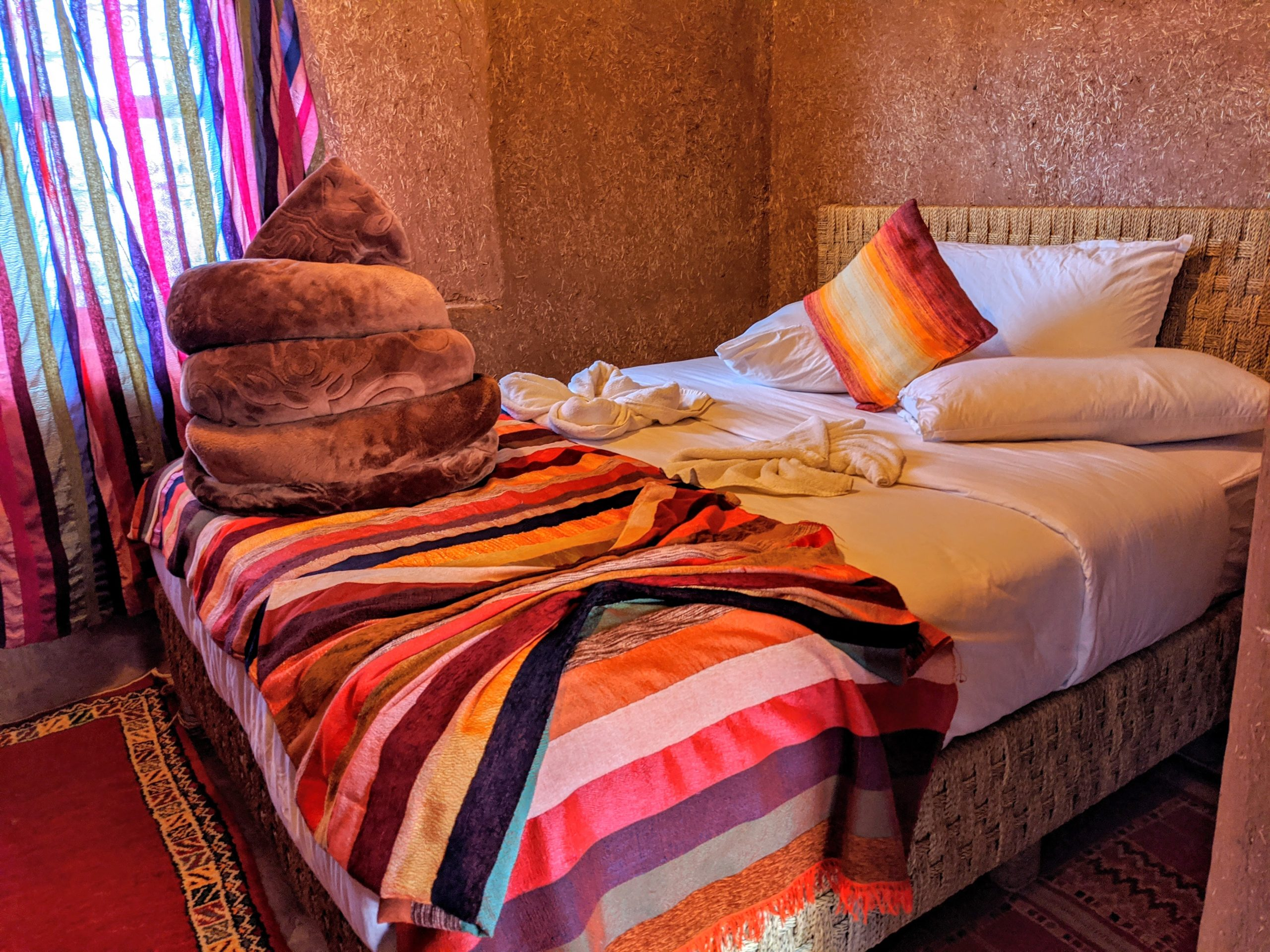 Hotel room in Morocco
