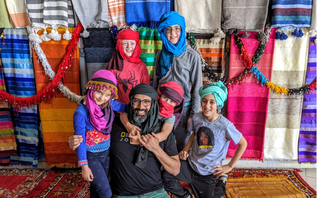 packing for off the beaten path travel in Morocco