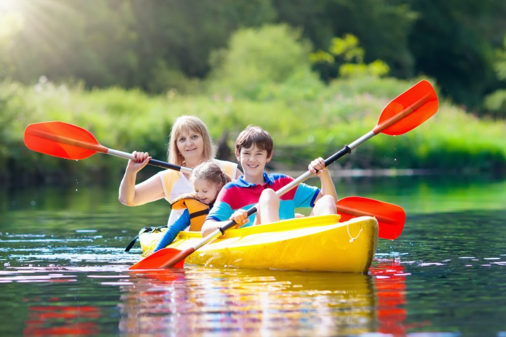 Kayaking the Loxahatchee River is one of the fun things to do in Jupiter, Florida
