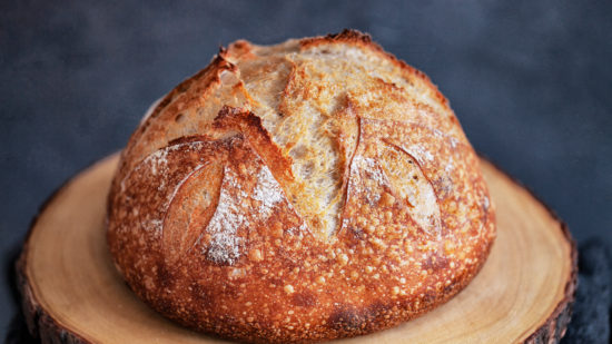 Sourdough bread, a San Francisco treat.