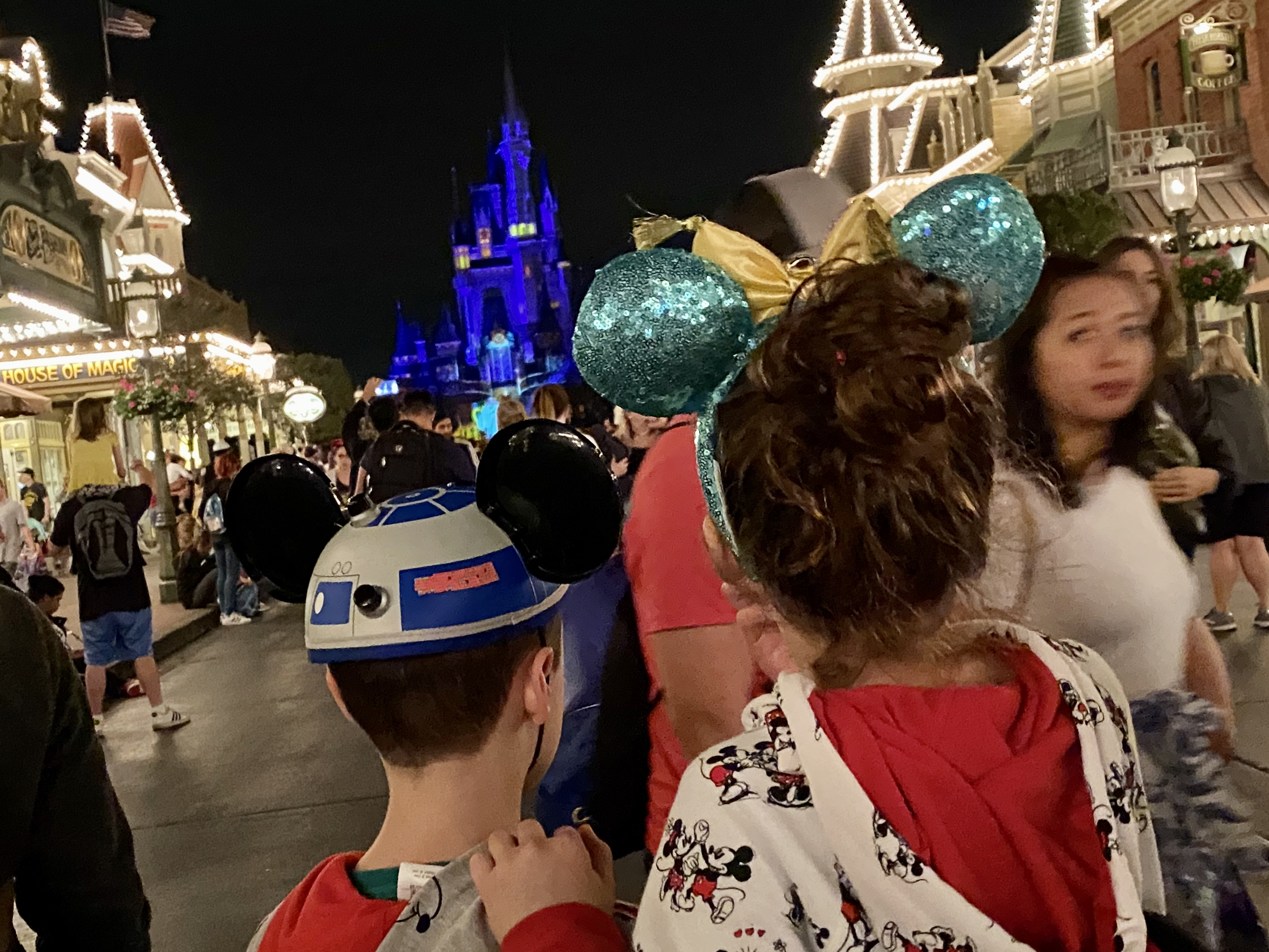 Disney World Disability Pass - waiting on Main Street