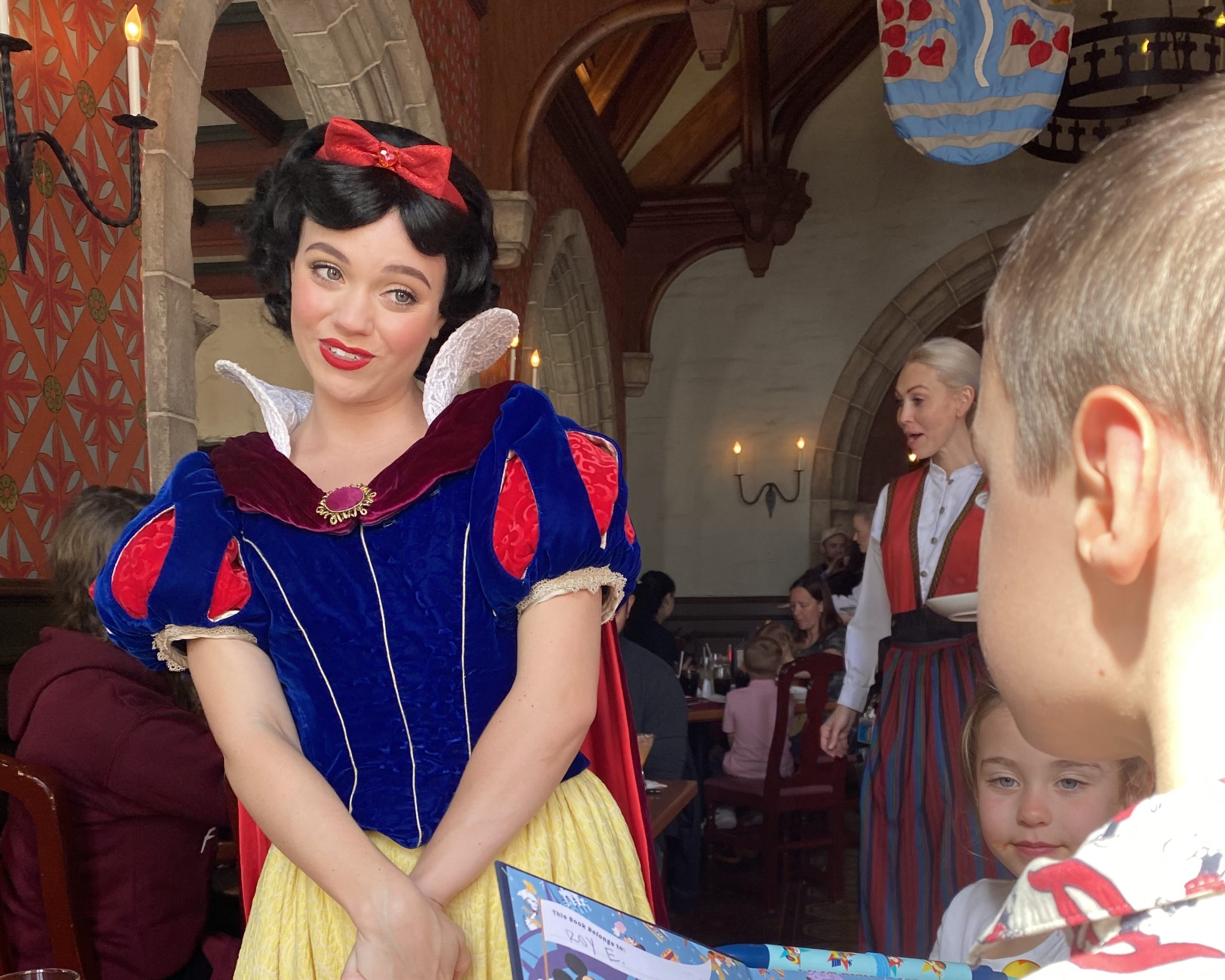 Disney World Disability Pass - kid with Snow White