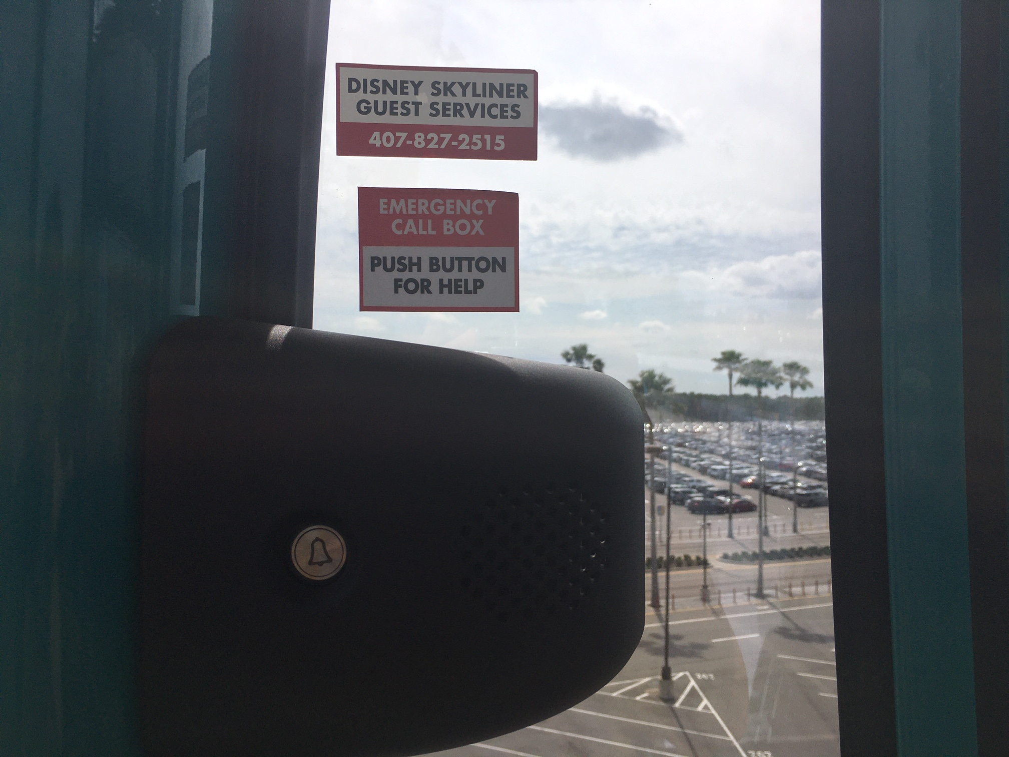 emergency phone number in all disney skyliners
