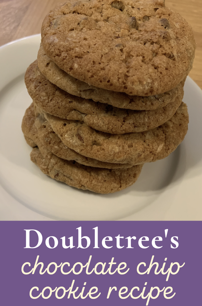 stack of doubletree cookies