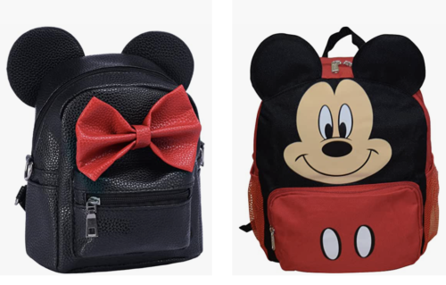 Disney backpacks for kids that are great for keeping their items together when driving to Disney