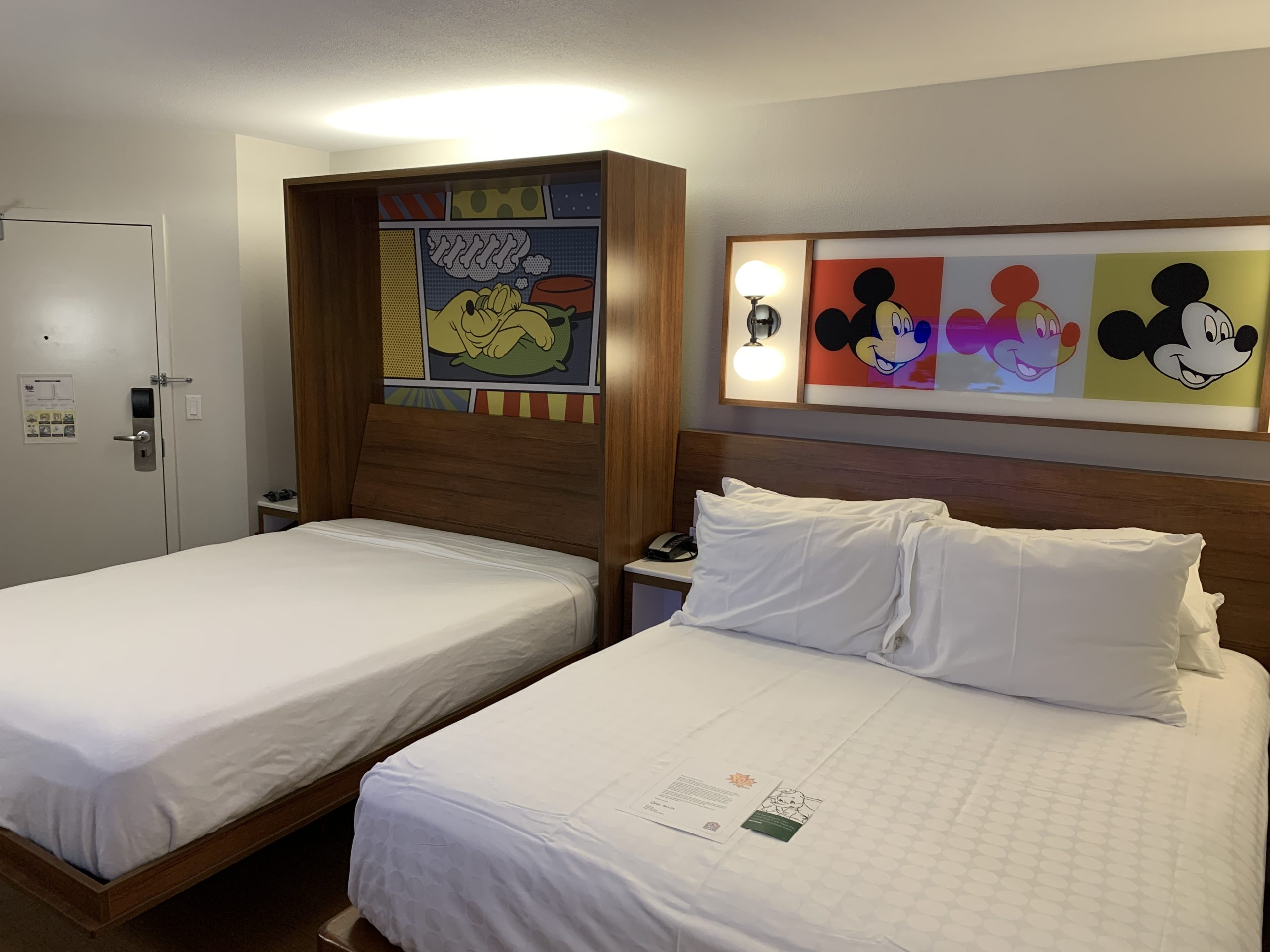Standard rooms at Disney's Pop Century Resort
