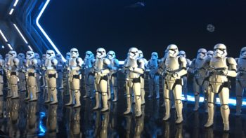 storm troopers at rise of the resistance