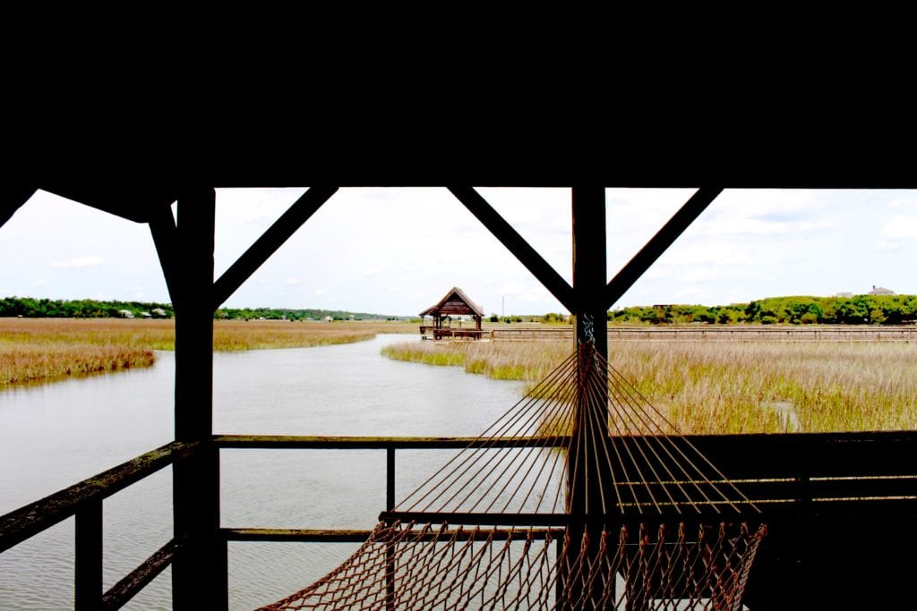 Road trips from Atlanta to Pawleys Island, SC, lead to iconic hammock relaxing.