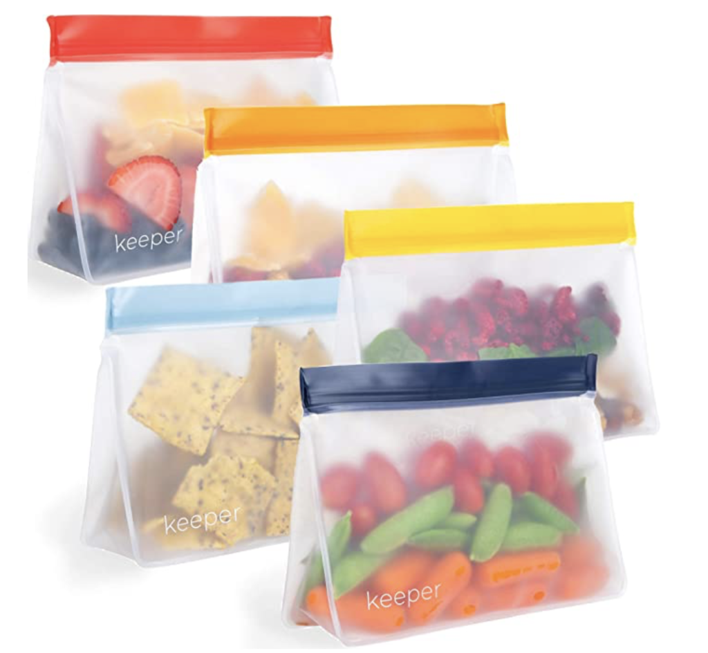 reusable snack bags for toddler snack
