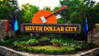 Silver Dollar City Front Sign