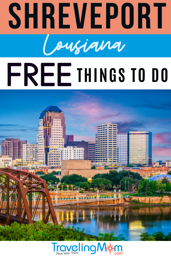 Free things to do in shreveport Pinterest pinnacle image