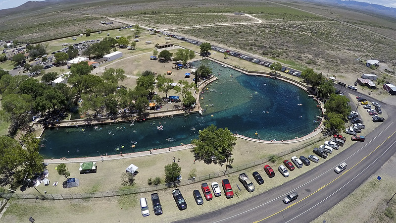 Balmorhea Pool in West Texas