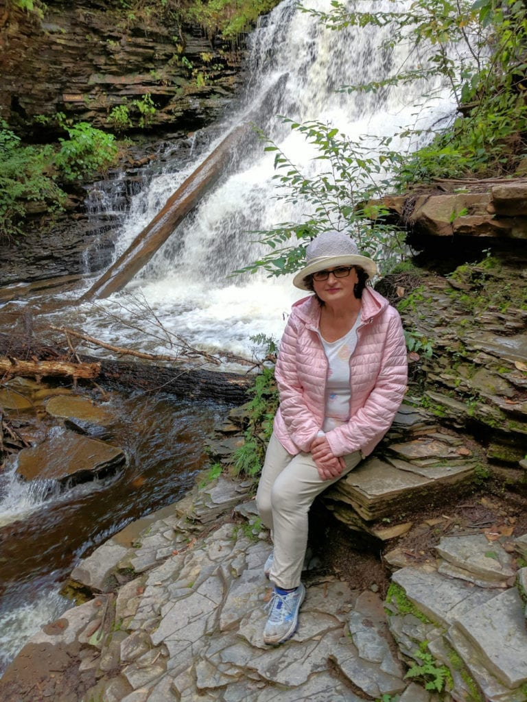 Pennsylvania state parks - Ricketts Glen State Park.