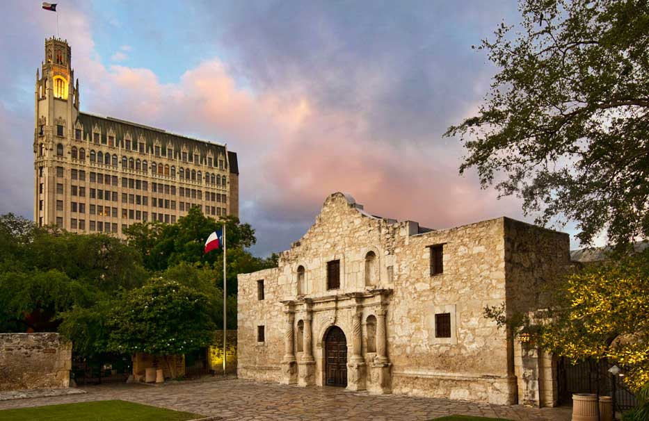 The Alamo is a must-see on a Texas road trip to San Antonio