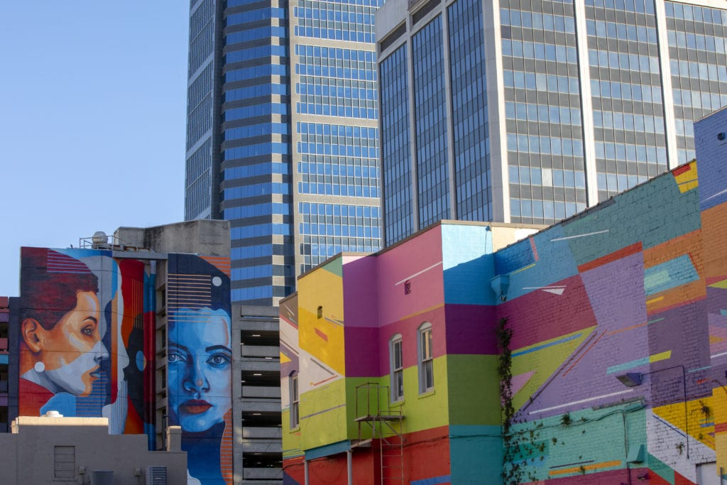 Art murals in Jacksonville, Florida