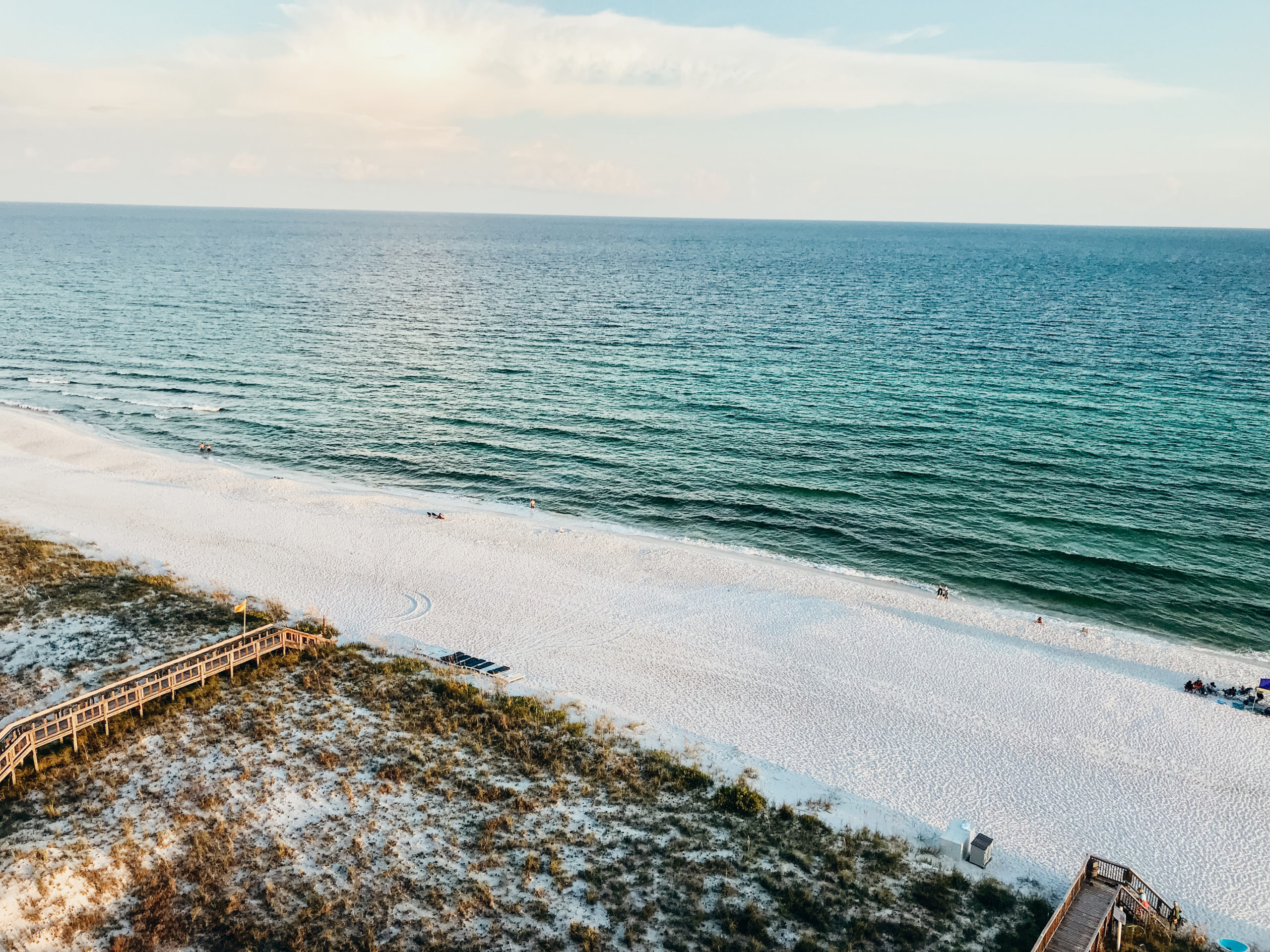 View of the beach in Navarre, Florida