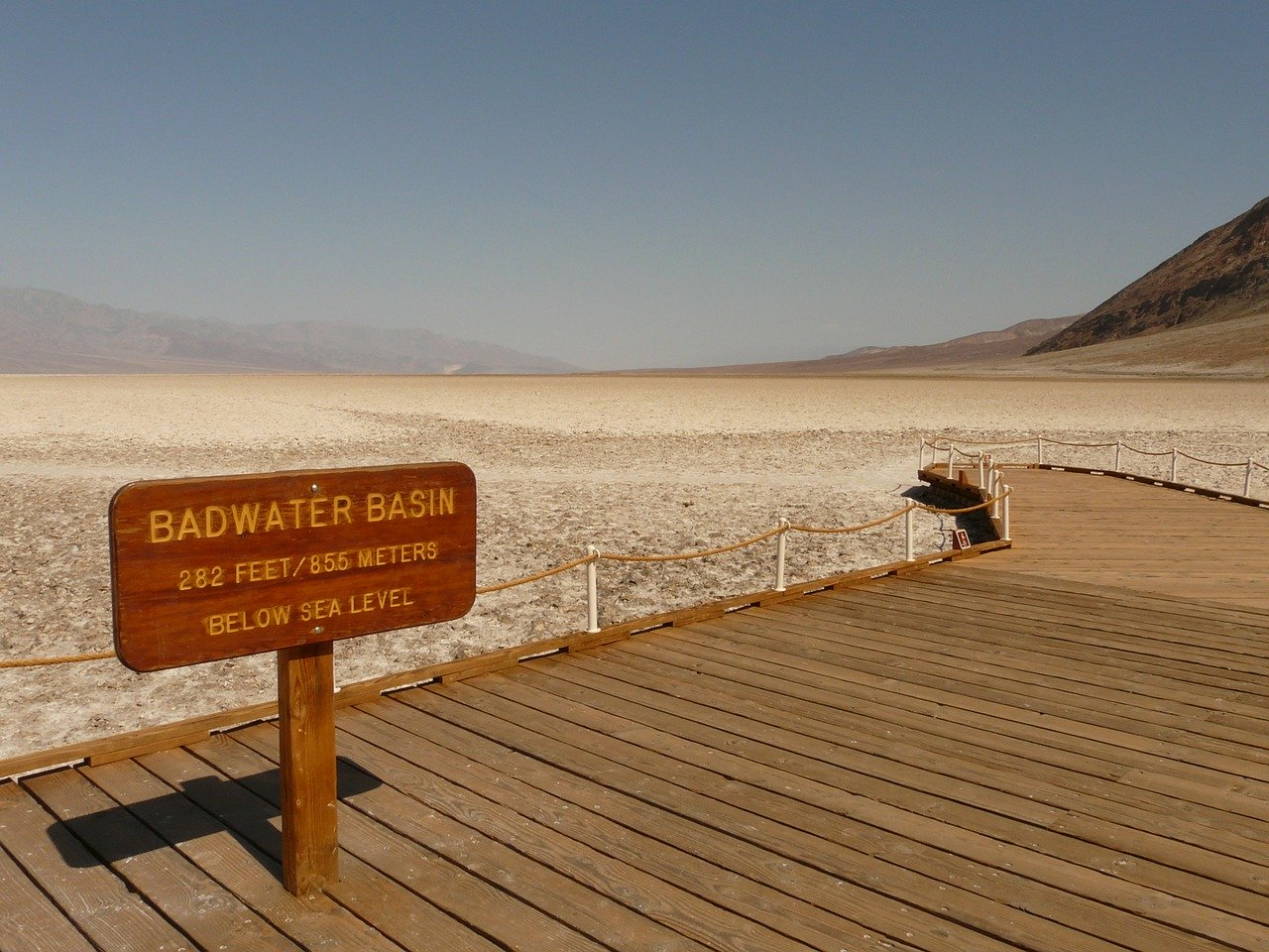 Badwater Basin at Death Valley