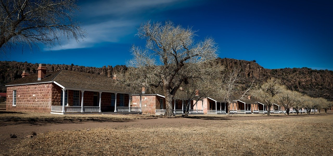 Fort Davis National Historic Site in West Texas