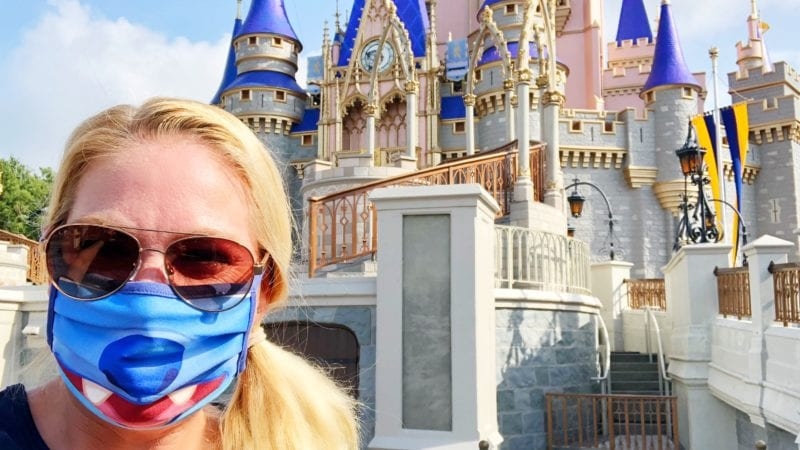 Disney World Reopening - Face Masks required