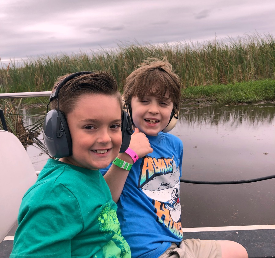 Airboat adventures on TravelingMom