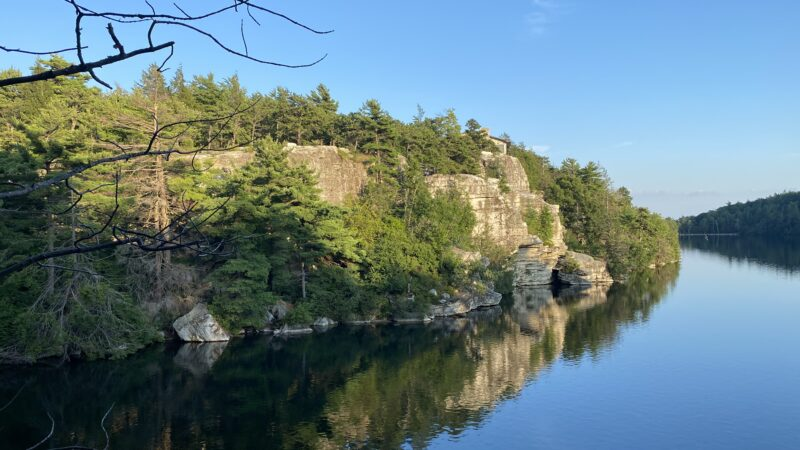 Hiking near NYC: Lake Minnewaska State Park Preserve