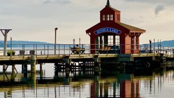 Pier House at Seneca Harbor in Watkins Glen, NY