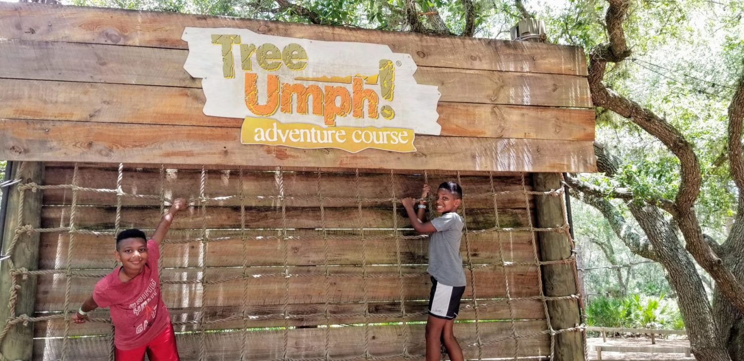 Tree-Umph Adventure Course in Sarasota Florida