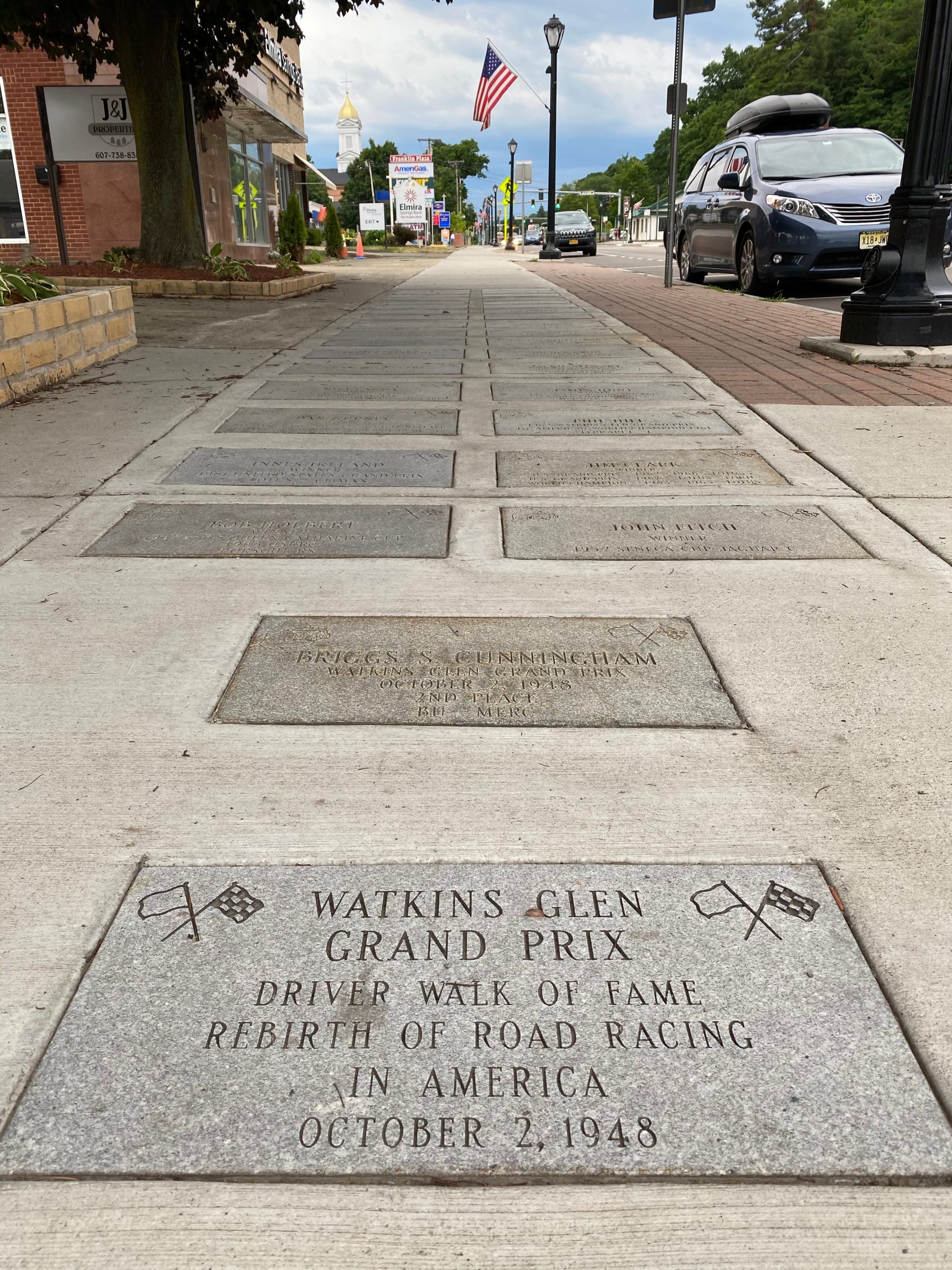watkins glen walk of fame