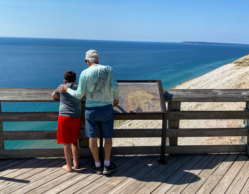 Family vacation with teens at Sleeping Bear Dunes National Park
