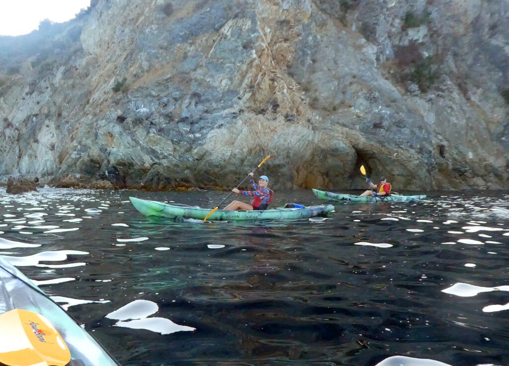 Kayaking is one of the best things to do on catalina island