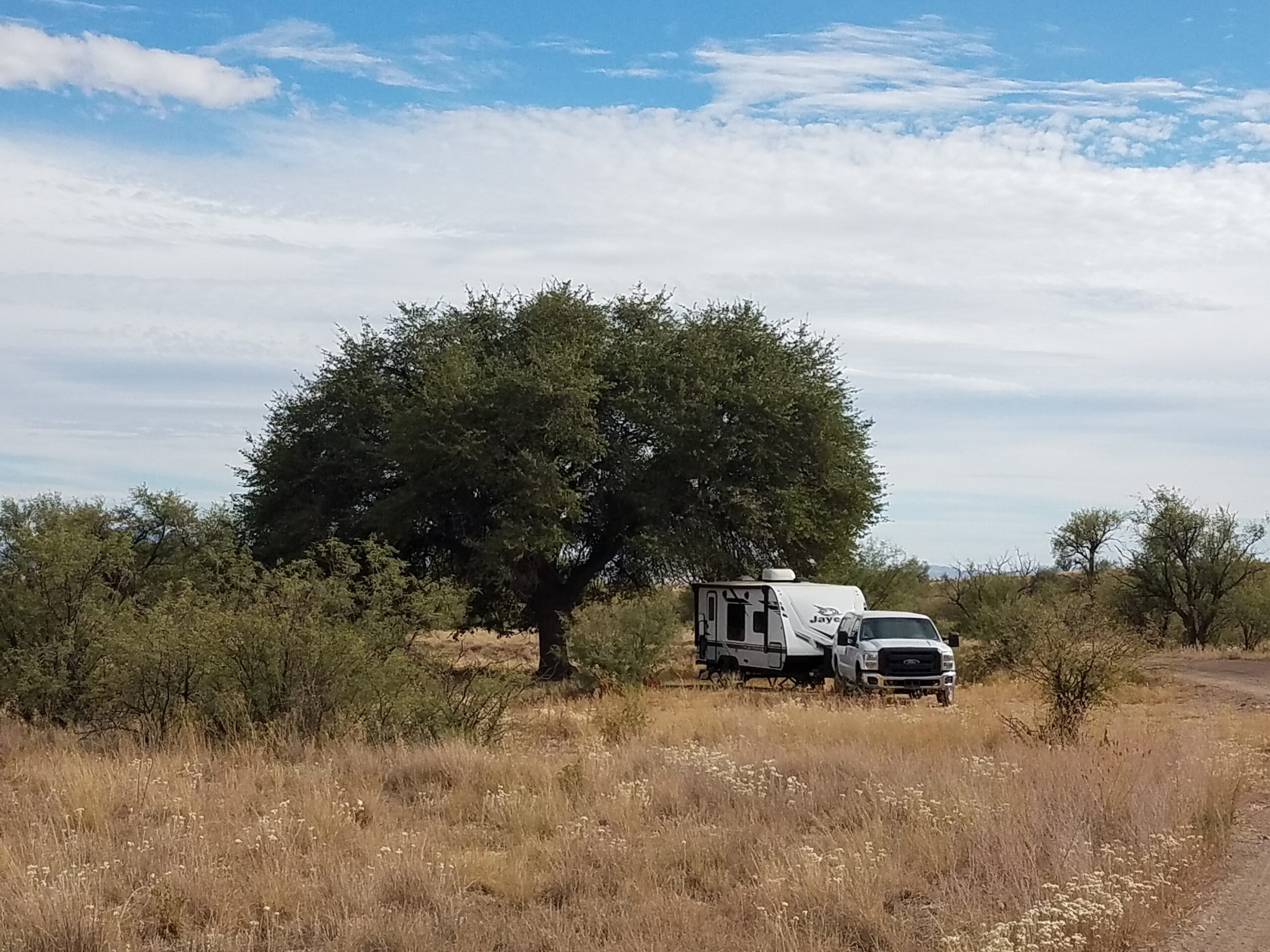 boondocking site at a conservation area near Sonoyta AZ