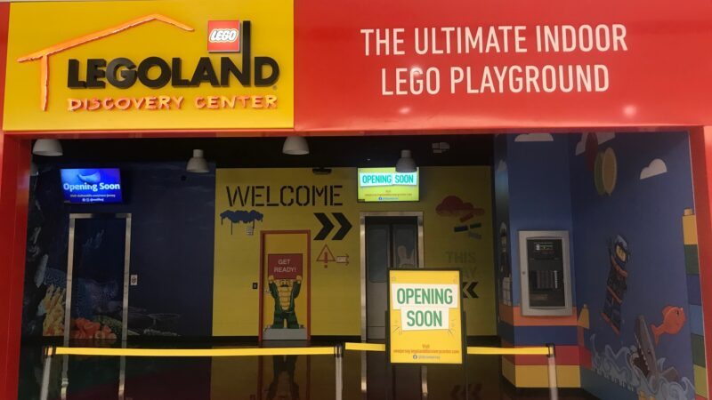 LEGOLAND Discovery Center at American Dream New Jersey.