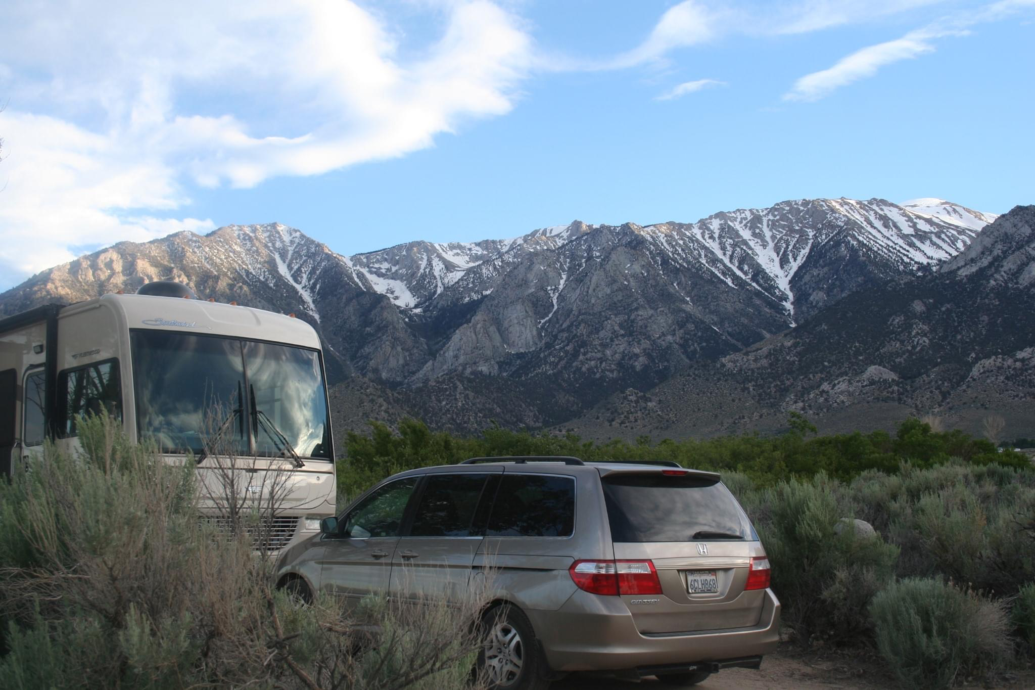 owens valley and mount whitney views in California's Sierra Nevadas
