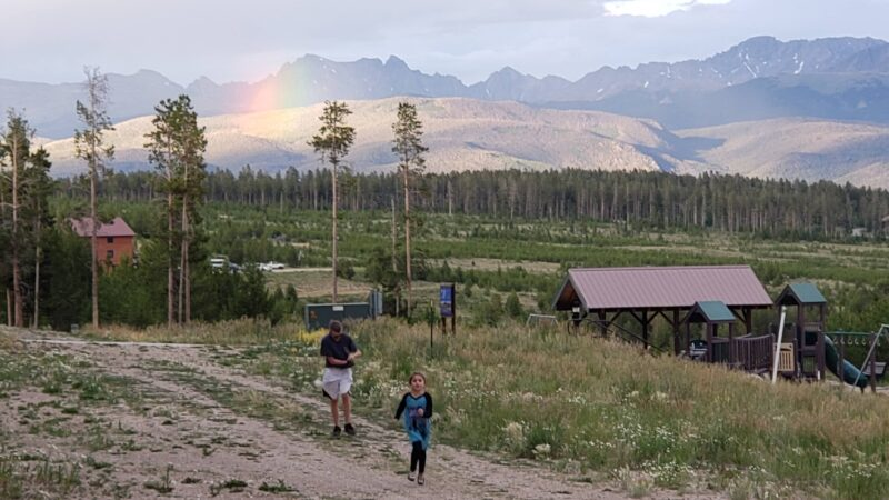 YMCA of the Rockies Snow Mountain Ranch is perfect for all ages -- and then there's these mountain views!