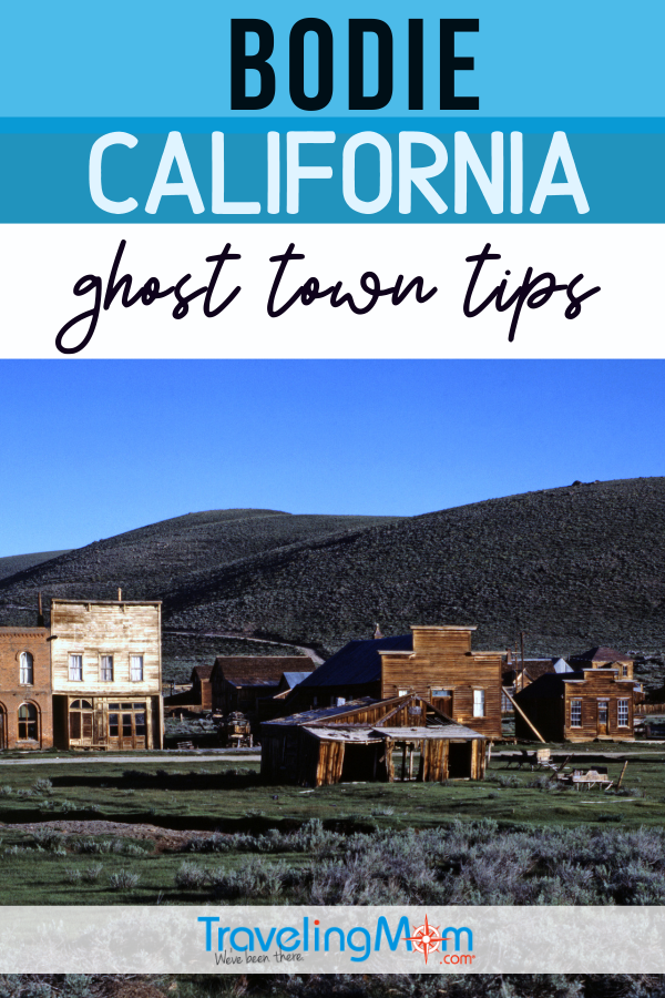 ghost town in Bodie ca