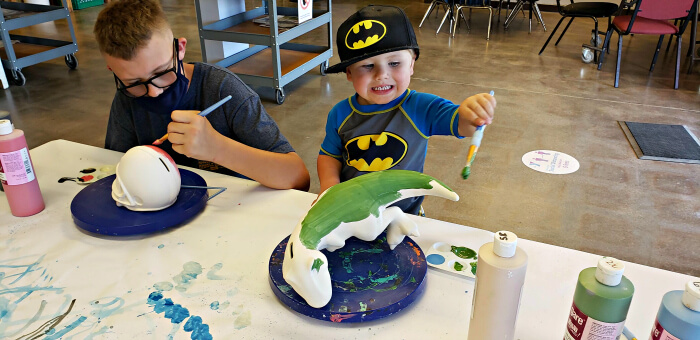 Kids of all ages will love making their own crafts at YMCA of the Rockies.