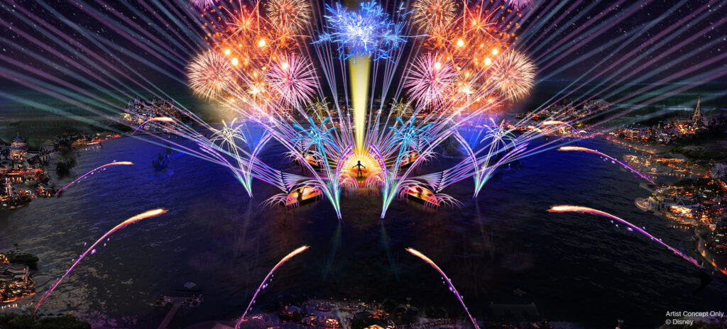 Harmonious, the new fireworks show at EPCOT