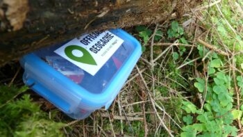 Geocaching on TravelingMom