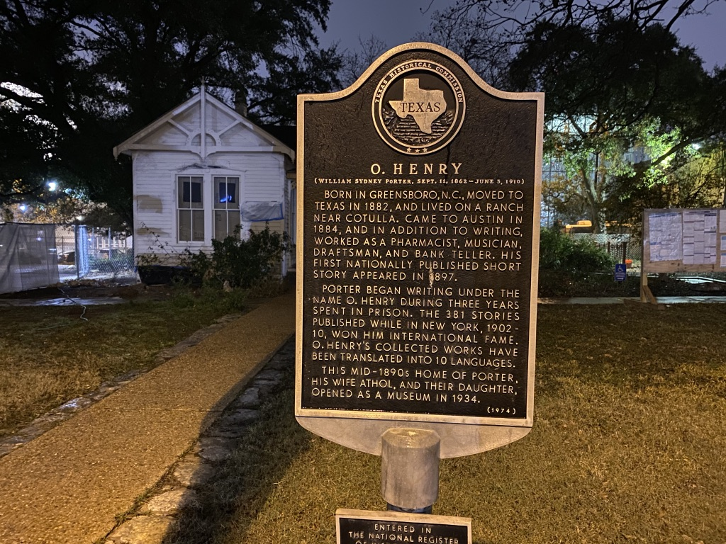 Austin itinerary ghost tour