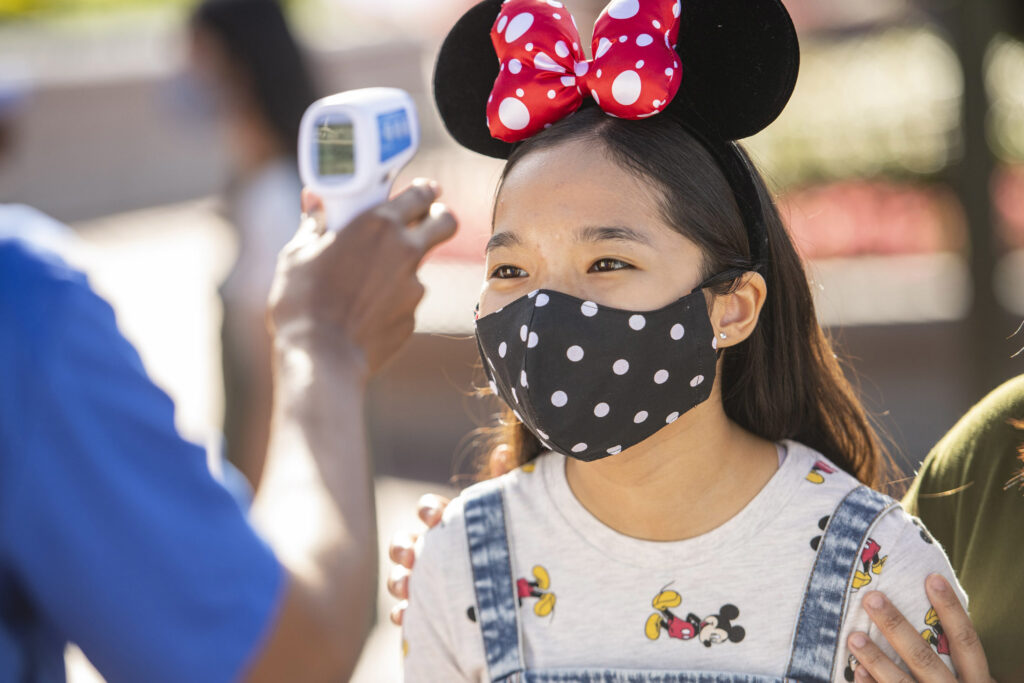 Disney World changes include temperature checks upon park entry.