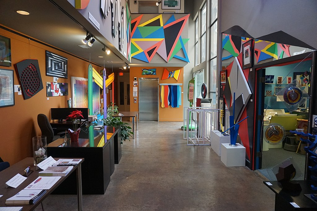 Museum of Geometric and MADI Art, one of the best things to do in Dallas with kids.