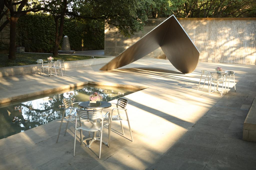 Dallas Museum of Art Sculpture Garden is one of the fun things to do in Dallas with kids