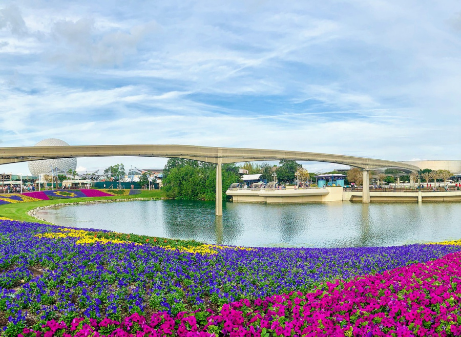 Flower festival at Epcot