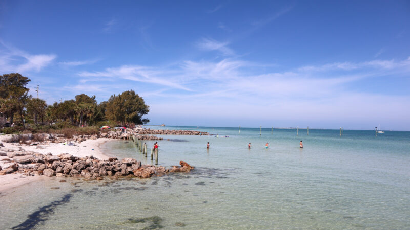 One of the things to do in Bradenton FL - go to the beach!