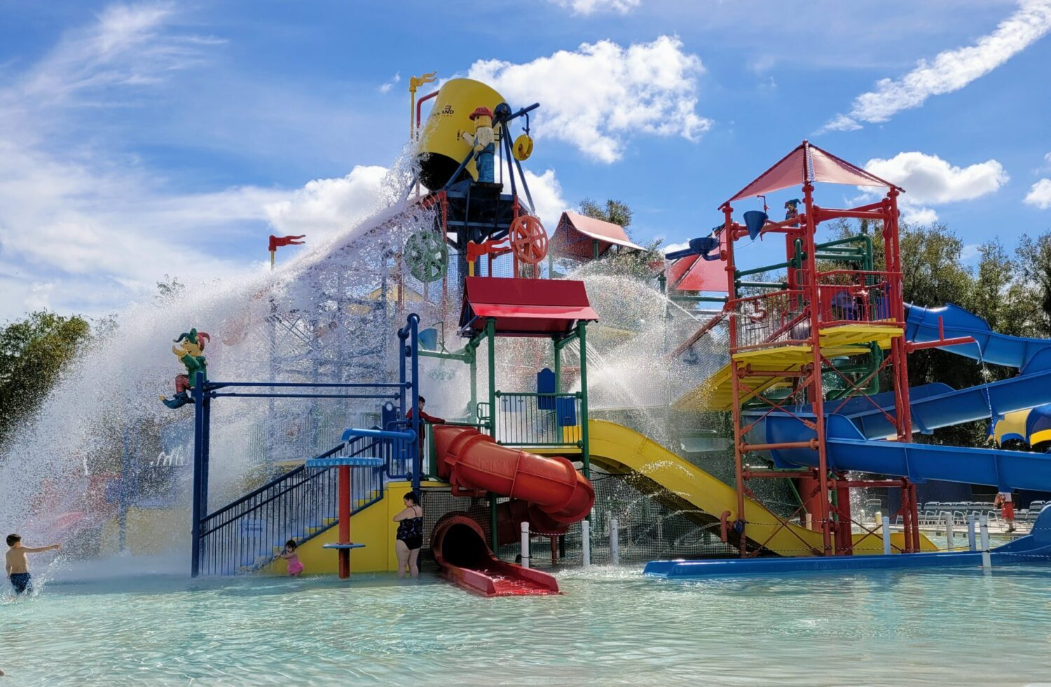 LEGOLAND Florida water park, a great place to visit with teens and tweens