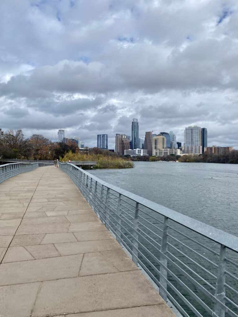 The Hike and Bike Trail, one of the best things to do in Austin with kids