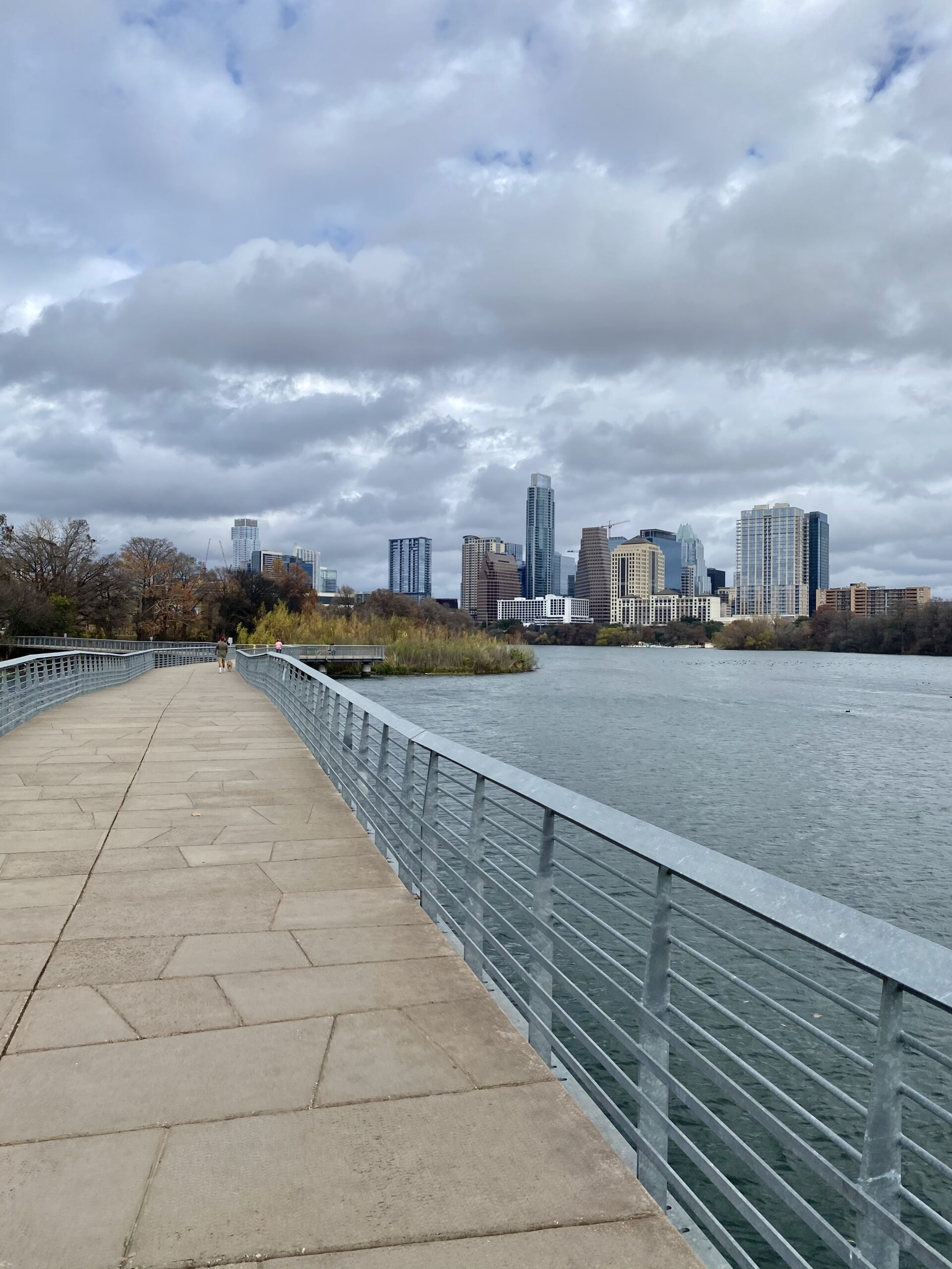 The Hike and Bike Trail, one of the best things to do in Austin on a babymoon