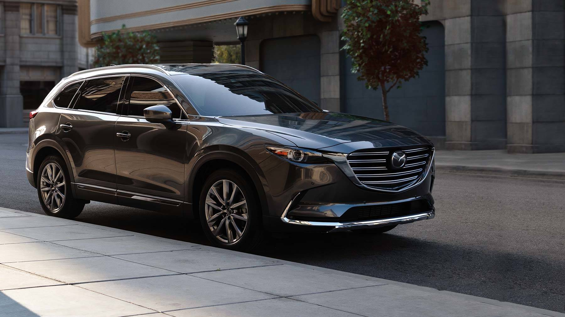 Mazda CX-9, one of the best family road trip vehicles